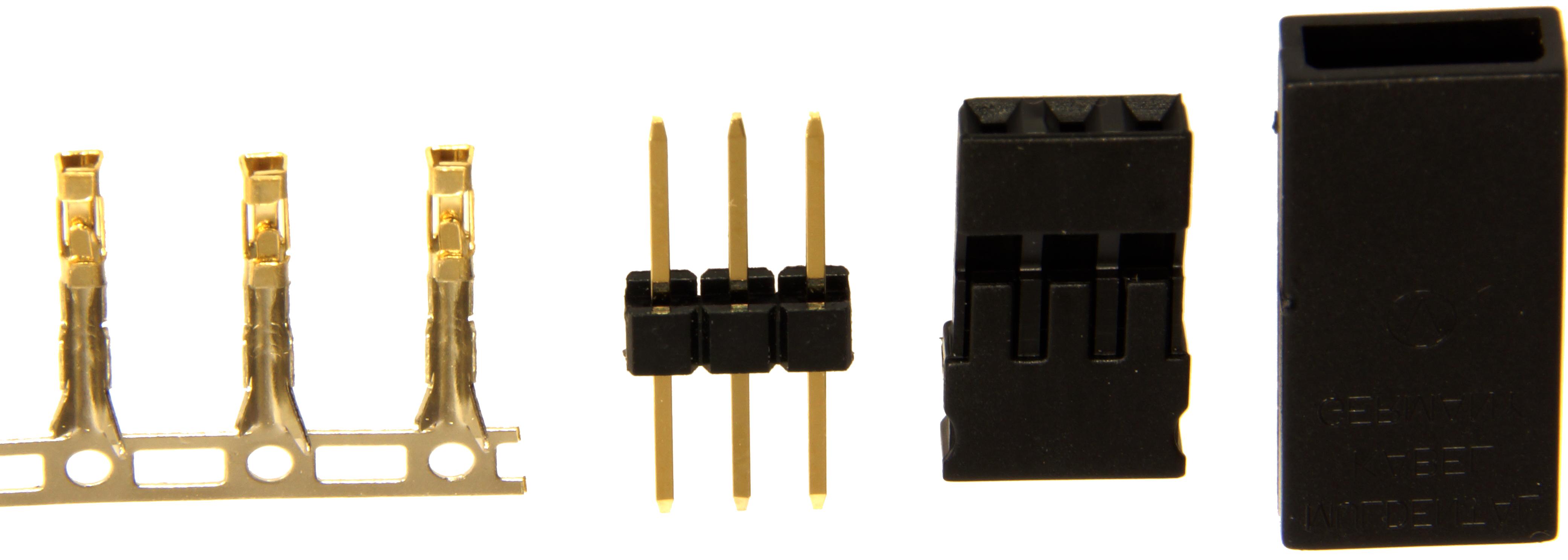 Steckverbindungen, verpackt|Crimpbar, verpackt1