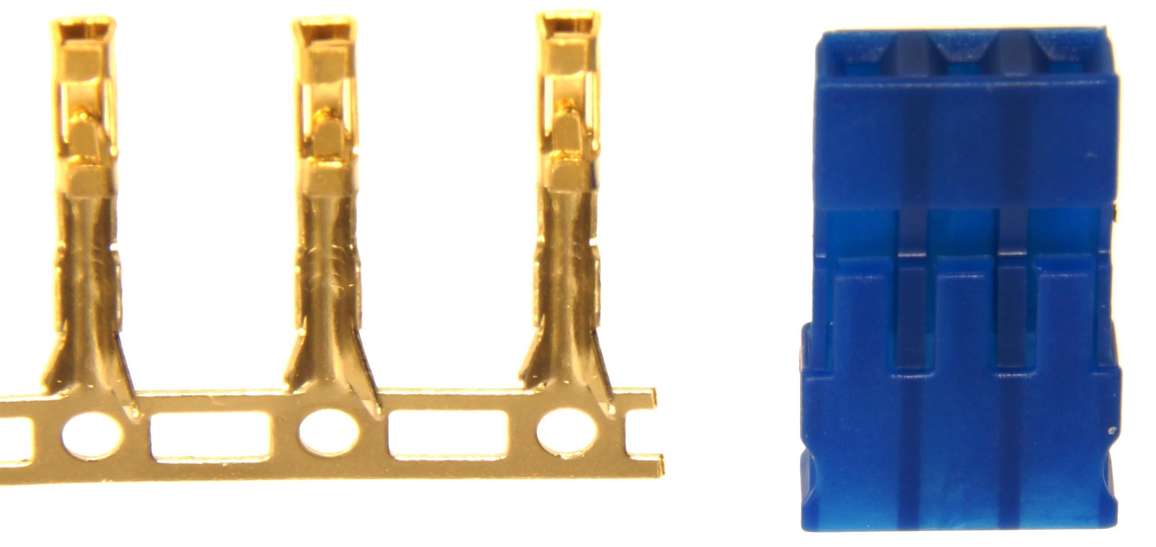Steckverbindungen, einzeln verpackt Crimpbar, verpackt1
